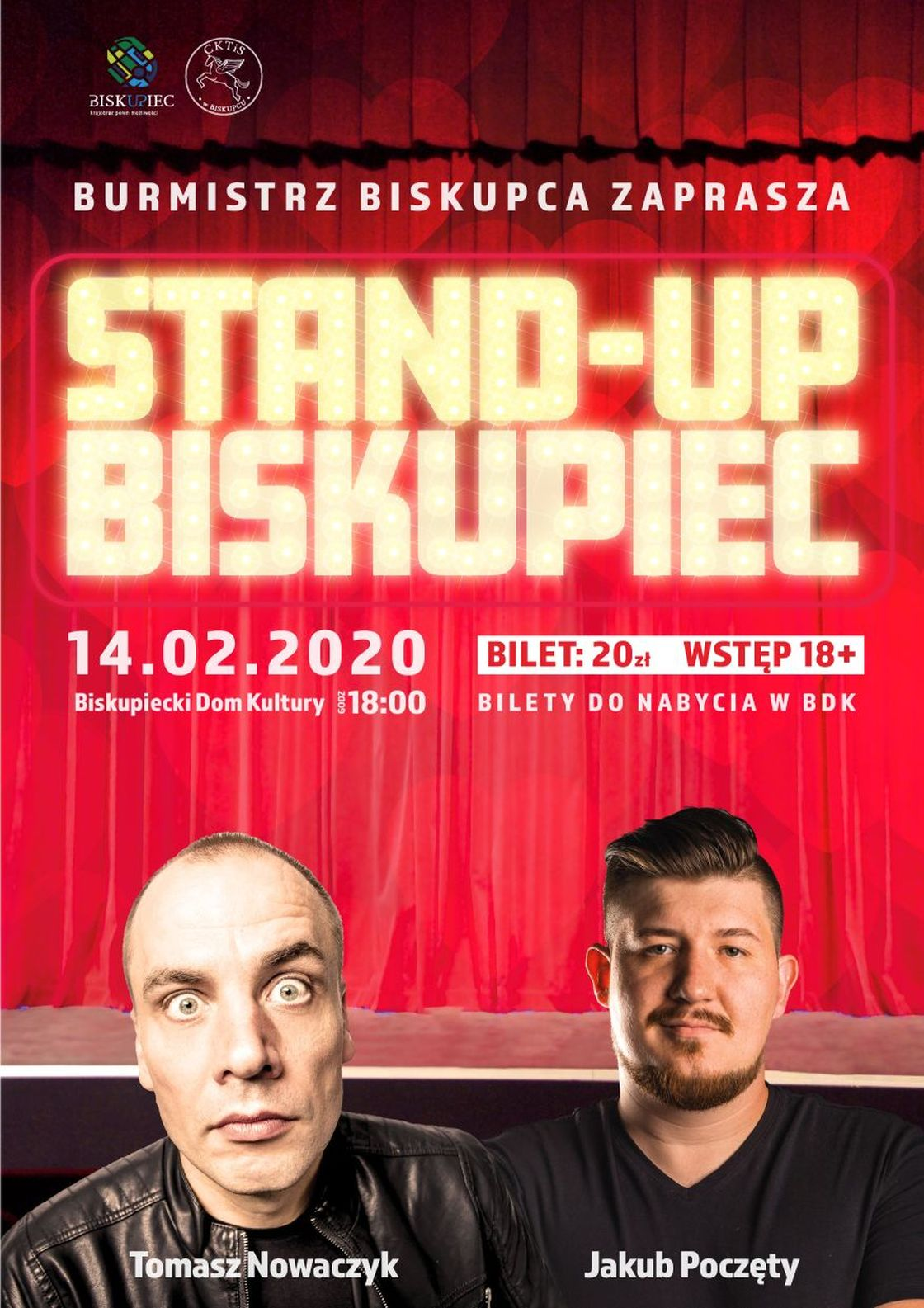 stand up bis